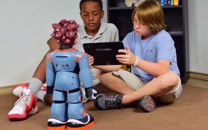 MILO Robot en apoyo de niños con autismo