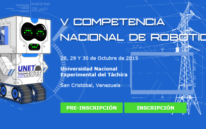 V Competencia Nacional de Robótica – Venezuela