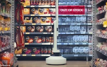 Robot Asegura que las tiendas siempre estén surtidas