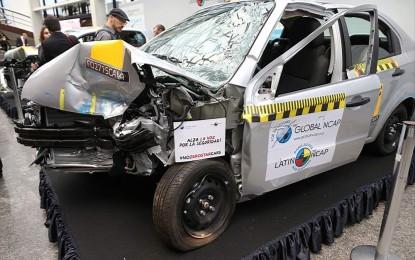 Aveo el auto más vendido en México, reprobado en las pruebas de seguridad vehicular realizadas por Latin NCAP