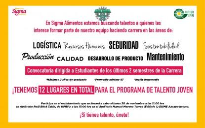 Sigma está buscando Talento…