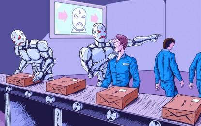 China cambia obreros por robots
