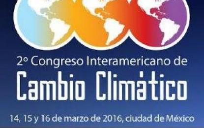 2º Congreso Interamericano de Cambio Climático (CICC 2016)