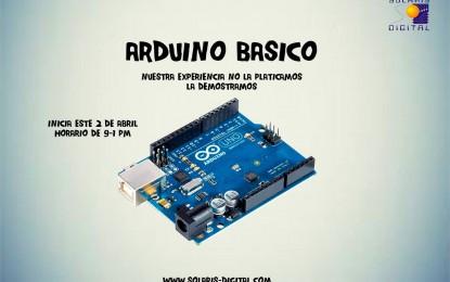ARDUINO BÁSICO; MICROCONTROLADORES PIC´S, SOLIDWORKS