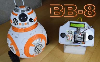 BB-8 en una impresora 3D