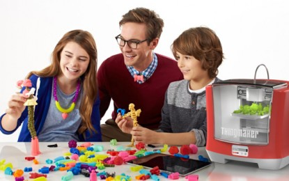 Mattel anuncia impresora 3D para niños