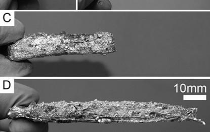 Nuevo material Híbrido entre Metal y Espuma