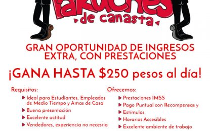 Obtenga ingresos extra, con prestaciones – KeTakuches