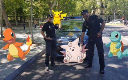 La policía alerta sobre los riesgos de Pokémon GO
