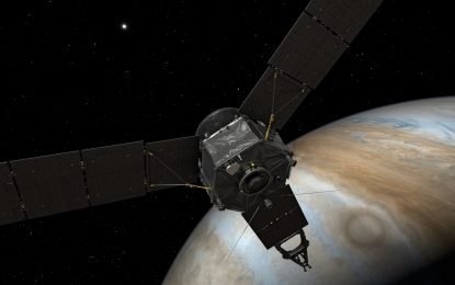 Inminente llegada de la nave Juno a Júpiter