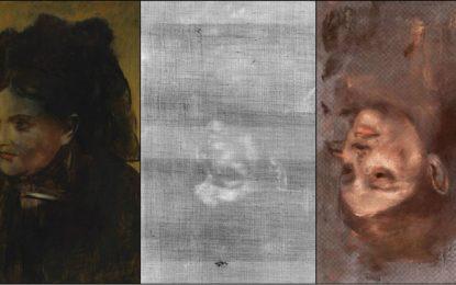 Retrato oculto en un cuadro de Degas