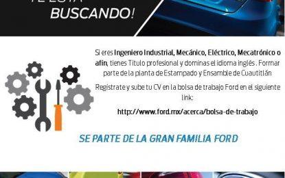 FORD Te está buscando #FordTeEstáBuscando
