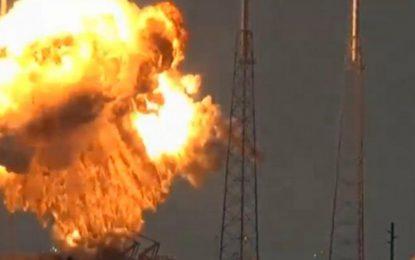 Facebook pierde su primer satélite en la explosión del cohete de SpaceX