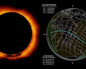 El eclipse solar se verá desde las selvas de África y parcialmente en Canarias