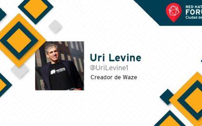 @UriLevine1, creador de Waze, compartió importante mensaje a desarrolladores en #RHForumMex