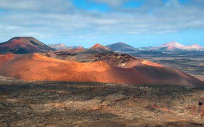 La Agencia Espacial Europea entrena astronautas en el paisaje 'marciano' de Lanzarote