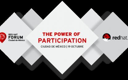 La nueva edición de Red Hat Forum llega a la Ciudad de México