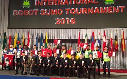IPN, 3er lugar a nivel mundial en el 28° Torneo Internacional de Robot Sumo – Tokio