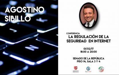 """Dr. Agustino Sibillo – """"El padre de la Nube"""" EN VIVO desde en Senado de la República."""