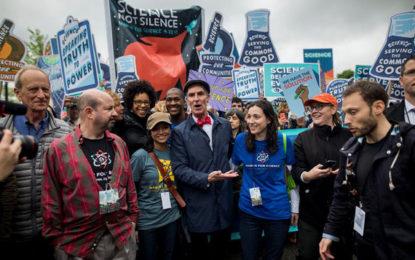 Mensajes de la primera marcha global por la ciencia
