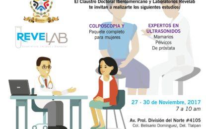 ReveLab – Claustro Doctoral Iberoamericano – Promoción de Estudio Preventivo