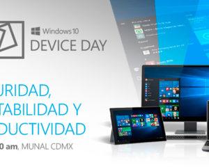 Microsoft 10 Device Day